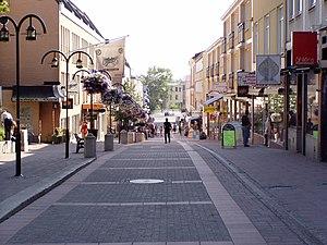 Härnösand - Storgatan in Härnösand