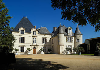 Pessac - Chateau of Haut Brion