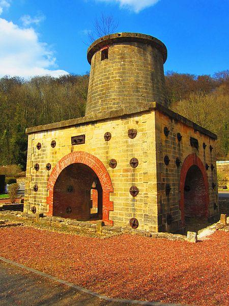 Cons Grandville blast furnace 1865