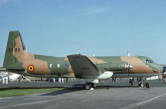 Hawker Siddeley HS 748 - Belgian air force Hawker Siddeley HS-748