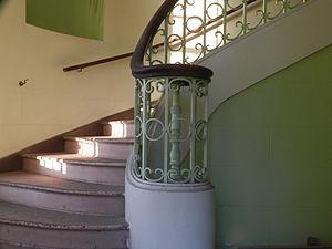 Alex Giualini Plaza - Interior stairway (building closed to the public)