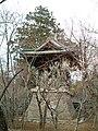 Heirinji temple bell stand.jpg