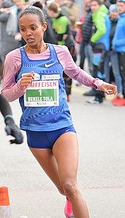 Helen Bekele Tola Ethiopian-Swiss long-distance runner