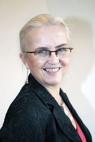 Helen Bjørnøy - Image: Helen Bjoernoey, norsk miljominister, under nordiskt miljoministermote i Kopenhamn 2006 03 16
