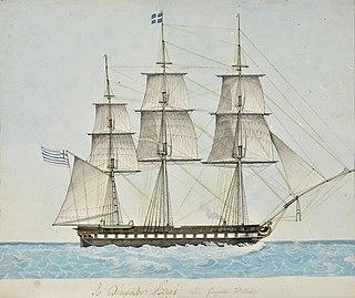 Greek frigate <i>Hellas</i>
