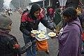 Helping Needy People - Makar Sankranti Observance - Ramkrishnapur Ghat - Howrah 2018-01-14 6430.JPG