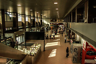 Henri Coandă International Airport - Departures hall