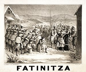 Franz von Suppé - Poster for Fatinitza