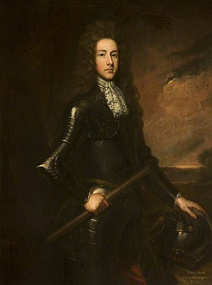 Henry Booth, 1st Earl of Warrington - Image: Henrybooth