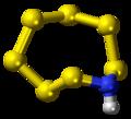 Heptasulfur imide molecule ball.png