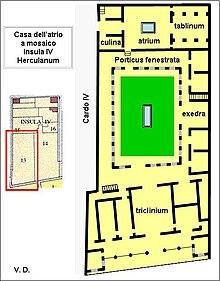 Herculanum wikip dia for 7 a la maison wikipedia