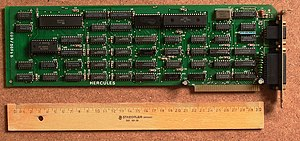 Deutsch: Original Hercules Graphics Card (HGC)...