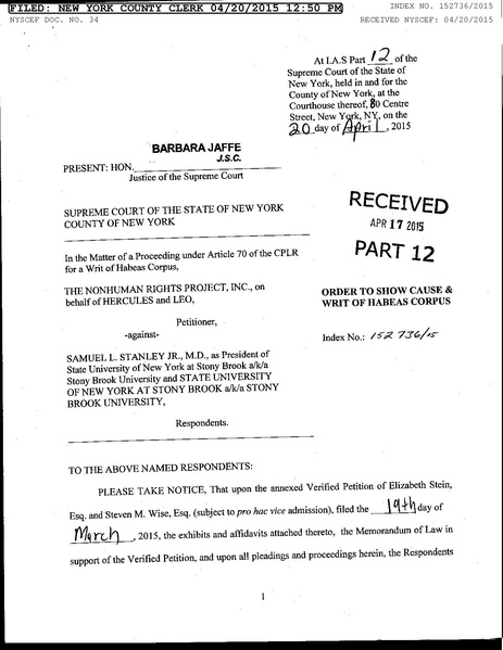 File:Hercules and Leo initial WRIT show cause ORDER.pdf