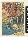 Herfst in Oirase Autumn in Oirase (titel op object), AK-MAK-1631.jpg