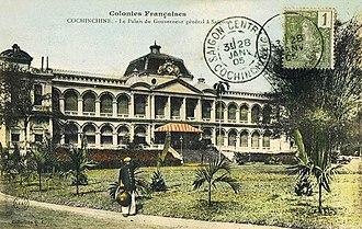 Saigon Governor's Palace - The Governor's Palace in Saigon, 1873