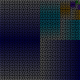 Hilbert curve - Image: Hilbert