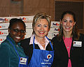Hillary Clinton 2005 10 19 National Care Package Day IMG 5170.jpg