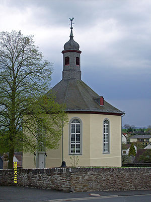 Weilburg - Hirschhausen – Lutheran church 1763