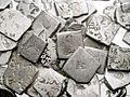 Hoard of mostly Mauryan coins.jpg