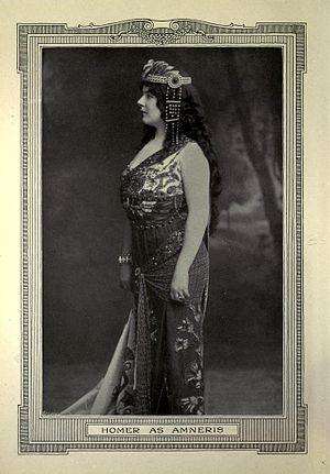 Louise Homer - Louise Homer as Amneris in Aida