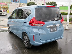 Honda FREED HYBRID G・Honda SENSING 2WD (6AA-GB7) rear.jpg
