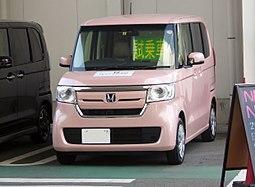 Honda N-BOX G・EX Honda SENSING (DBA-JF3)