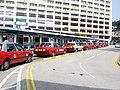 Hong Kong Taxi - 4-12-2006 - TST Pier Taxi Stand (2).jpg