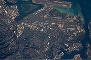 Honolulu (satellite photograph - 22 12 2009)