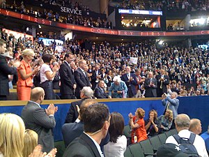 2008 Republican National Convention - Members of the Bush and McCain families when former President George H.W. Bush was honored on September 2, 2008