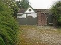 Horse weather vane and clock on property west of Barlavington - geograph.org.uk - 1246607.jpg