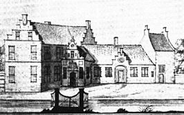 De Hottinga State, getekend in 1723 door Jacobus Stellingwerf