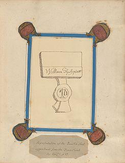 Ireland Shakespeare forgeries