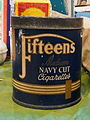 Household products, Fifteens, Medium navy cut cigarettes, pic1.JPG