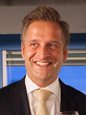 Hugo de Jonge - Image: Hugo de Jonge 2016