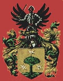 Wappen der Familie Humboldt (Quelle: Wikimedia)