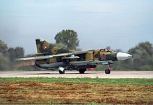 Hungarian Air Force Mikoyan-Gurevich MiG-23MF Lofting-1.jpg