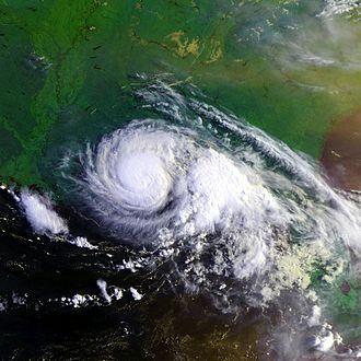 1997 Atlantic hurricane season - Image: Hurricane Danny 19 july 1997 1237Z