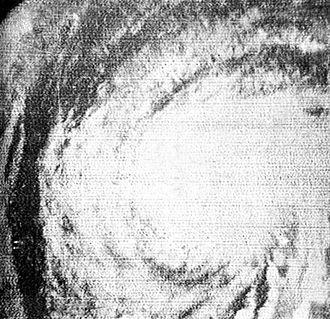 1961 Atlantic hurricane season - Image: Hurricane Esther