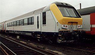 NMBS/SNCB I11 coach class of 163 Belgian passenger cars