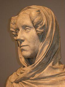 Ernst Rietschel: Ida von Lüttichau (Gipsbüste) (Quelle: Wikimedia)