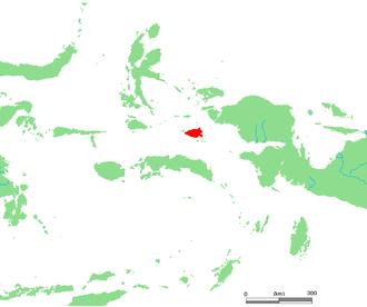 Misool - Location of Misool