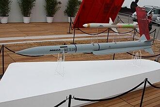 Meteor (missile) - Image: ILA 2010 Samstag 125