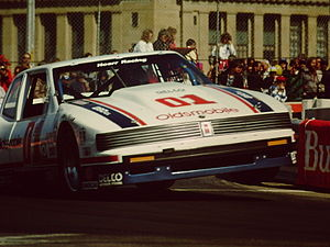 IMSA GT Championship - Robin McCall in the Hoerr Racing GTO Oldsmobile (1987).