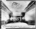 INTERIOR, FROM STAGE TO VESTIBULE - Granger Music Hall, 1700 East Fourth Street, National City, San Diego County, CA HABS CAL,37-NATC,2-3.tif