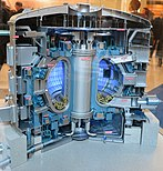Small-scale model of ITER