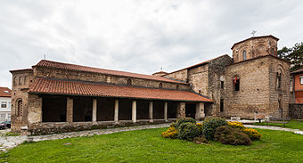 Narthex of St. Sophia, Ohrid (9th century)