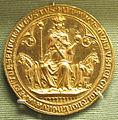 Ignoto, re ludovico IV, bull d'oro, 1329.JPG