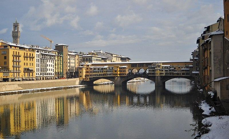 Ponte Vecchio, Florença.