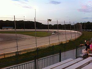 Illiana Motor Speedway - Image: Illiana Motor Speedway 2012