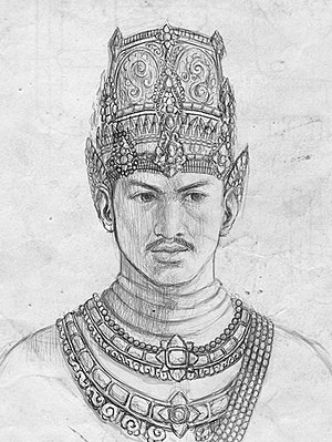 Raden Wijaya - Illustration of Raden Wijaya